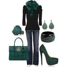 Green Sparkle! Love it all!