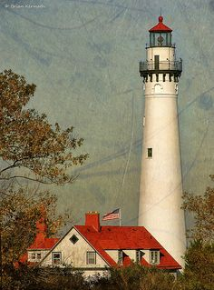 Wind Point Lighthouse near Racine Wisconsin