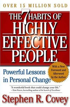"""Seven Habits of Highly Effective People by Stephen R. Covey is an excellent book that probably almost everyone has heard of. Millions of people have read it, but unfortunately many people don't make the commitment to actually apply the habits in their everyday life. If they did, it's a """"can't miss"""" success formula. However, it is not an """"in"""