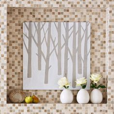 Easy Tree Wall Art - Lowe's Creative Ideas