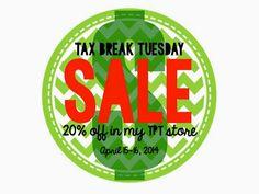 Tax Break Sale