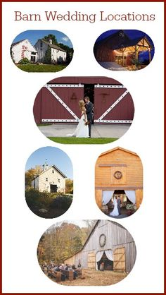 All the best locations for a barn wedding in one spot - RusticWeddingGuide.com