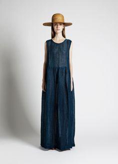 Sun Hat and Cree Dress |Samuji SS14 Seasonal Collection