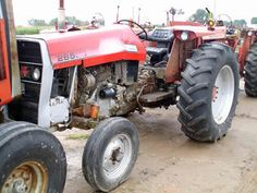 Massey Ferguson 265 tractor salvaged for used parts. Call 877-530-4430 for the best used ag parts. http://www.TractorPartsASAP.com