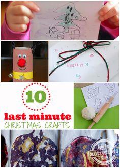 craft kids, christmas crafts, kid activities, minut craft, christma craft