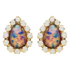Middleton Fire Opal Earring