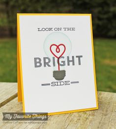 Watt's Up?, Lightbulb Die-namics - Debbie Carriere #mftstamps
