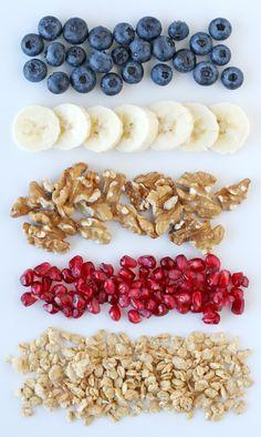 Healthy yogurt toppings- by Glorious Treats
