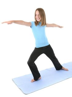 Simple Yoga Poses for Kids [Slideshow]