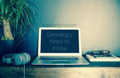 8 #Genealogy Things You Need to Know Today, Saturday, 19 July 2014, via 4YourFamilyStory.com. #needtoknow #familytree