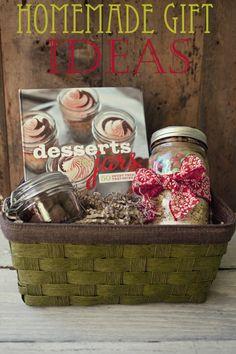 Edible Homemade Gift Ideas for the Holidays and #Christmas via FoodforMyFamily.com