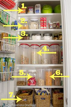 Best food storage containers - kitchen pantry makeover