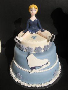 ice skate, beauti cake, fabul cakescupcak, skate cake, ice skating, amaz cake, cake cake, cake artistri, cake sport