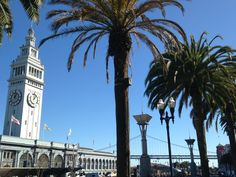 Ferry Terminal Building and the Embarcadero, San Francisco