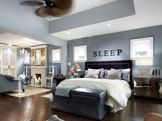wall colors, beds, color schemes, blue, dream, master suite, master bedrooms, sleep, sitting areas