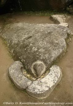 The Condor Stone at Machu Picchu