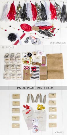 Arggh, matey! Perfect pirate parties start with P.S. XO!