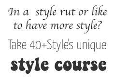 Style Course