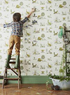 Magnetic Dino Wallpaper From Sian Zeng