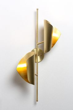Cigale Double Sconce - Atelier de Troupe
