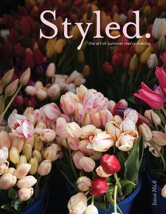 Styled magazine summer/2012 #celebration #craft #design #DIY #food #handmade #party #free