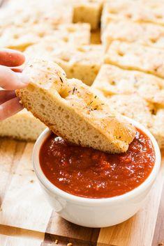 Quick & Easy Parmesan Foccacia