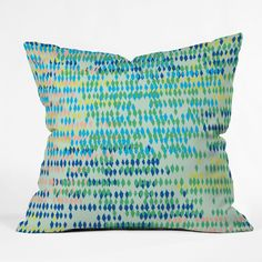Khristian A Howell Bangalore Cool Throw Pillow | DENY Designs Home Accessories