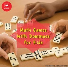 Dominoes make great math tools! Our #LearningToolkit blog has  4 ideas to increase number sense using dominoes. Click for details.