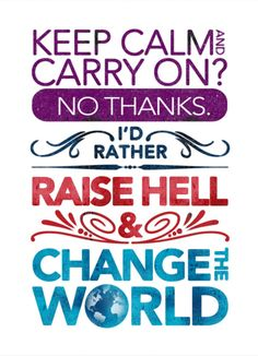 Change happens when you make it happen...travel, discover, and help others!
