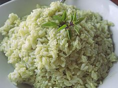 Ρύζι πιλάφι με αβοκάντο