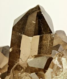 smoky quartz, france