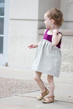 Bohemian Babydoll Dress || Pattern by Elegance & Elephants || Sewn by Delia Creates