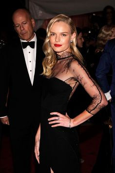 Kate Bosworth lace gown