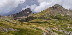 Wetterhorn Peak (left) 14,015'. San Juan Range