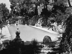 Somerset Maugham's villa, 'Mauresque', in St Jean Cap Ferrat, French Riviera