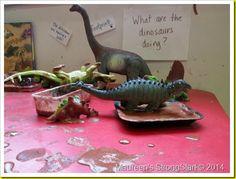 Dinosaur footprints...