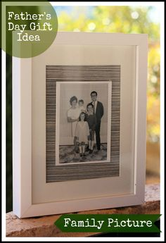 Framed Family Picture | A Spoonful of Sugar