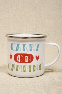 Enamel Camping Mug - €12