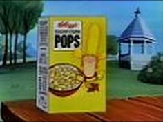 Kellogg's Sugar Corn Pops (Commercial, 1979) Here's a commercial for Kellogg's Sugar Corn Pops cereal.  This aired on local Chicago TV on Sunday, October 28th 1979.