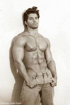 Muscle Hunky Men | Gorgeous Julian Gabriel photographed by Jorge...