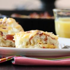 Cheesy Bacon Biscuit