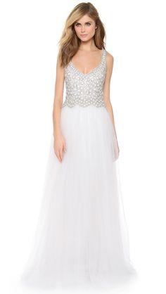 dinnigan bead, wedding dressses, bead tull, ball gowns, collett dinnigan, vintage wedding dresses, tulle, reception dresses, tull gown