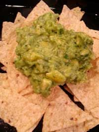 Mango Guacamole  3 Ripened Avocados 1 ripened mango, peeled & diced ¼ Cup of lime juice ½ Cup cilantro, finely chopped ½ Cup white onion, finely chopped 3 Tsp salt  Click Here for complete recipe:  http://www.q99fm.com/BreakfastClub/FDT2014.aspx cup cilantro