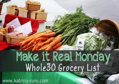 Whole30 Shopping Lis