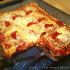 Deep Dish Pizza Casserole