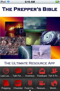 Prepper Information: Useful iPhone Apps for Preppers