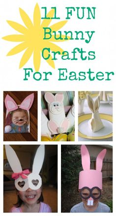 11 Fun Bunny Crafts For Easter