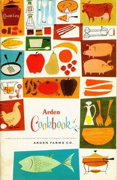 Arden Cookbook from Mid-Century Modern Graphic Design