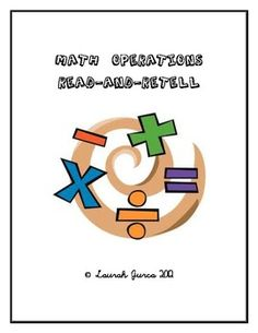 FREE Math Operations Read-and-Retell