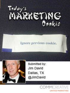 Today's Marketing Cookie